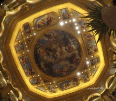 that ceiling inside the Venetian Casion