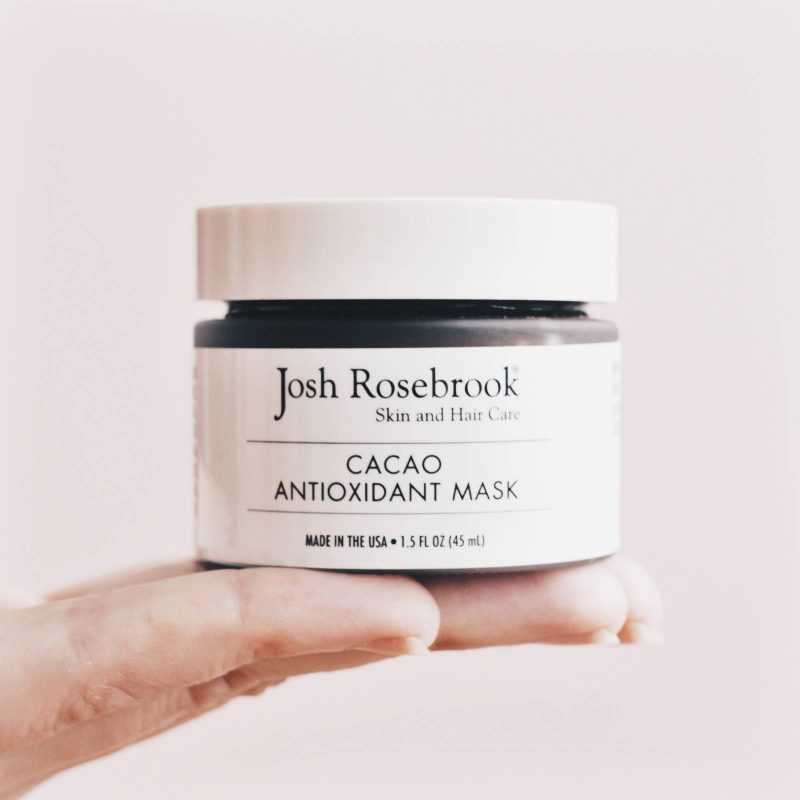 Josh Rosebrook Cacao Antioxidant Mask Review