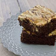 Chocolate Gingerbread Cheesecake Bars