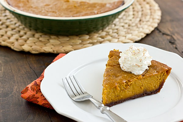 Pumpkin Gingersnap Pie