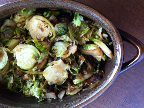 Sauteed Brussels Sprouts