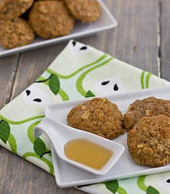 Apple Cinnamon and Quinoa Muffin Top Cookies