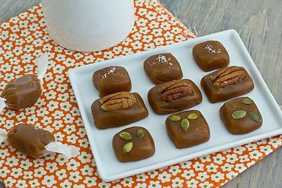 Spiced Sweet Potato Caramels Recipe