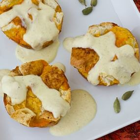 Sweet Potato French Toast Cups