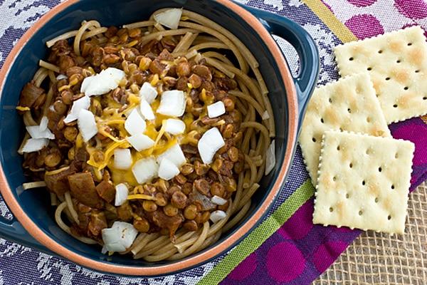 Vegan Cincinnati Chili