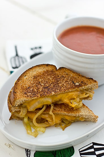 Drunken Grilled Cheese Sandwich