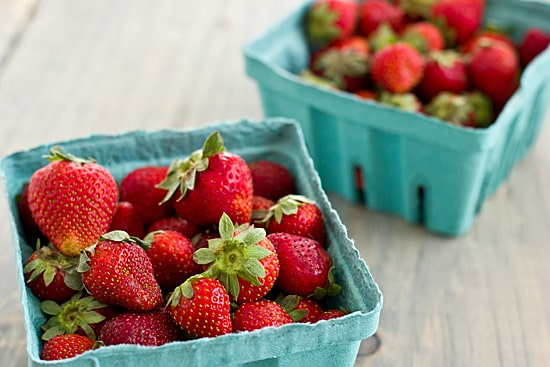 Strawberries for Fruit Leather