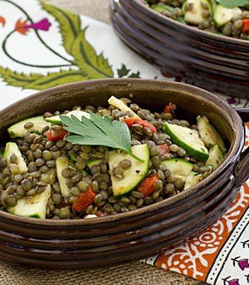 Herbed French Lentil Salad