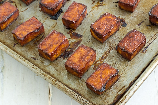 Baked Barbecue Tofu