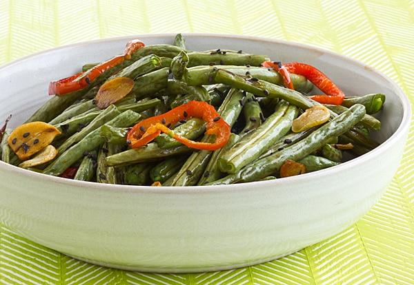Garlic Soy Green Beans