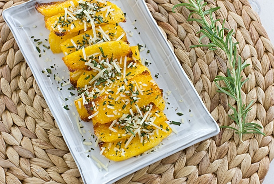 Rosemary Parmesan Polenta Fries