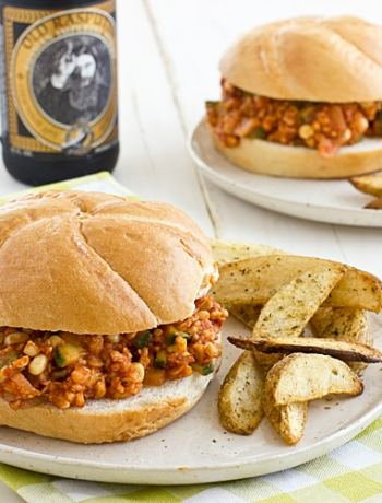 Veggie & Tempeh Sloppy Joes Recipe