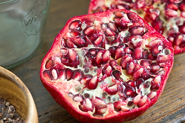 Pomegranate Half