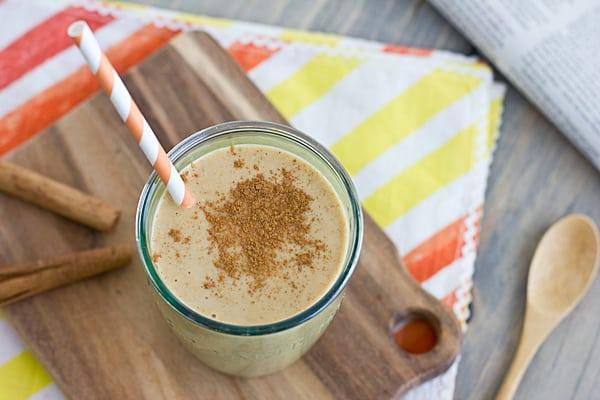 Pumpkin Spice Breakfast Shake