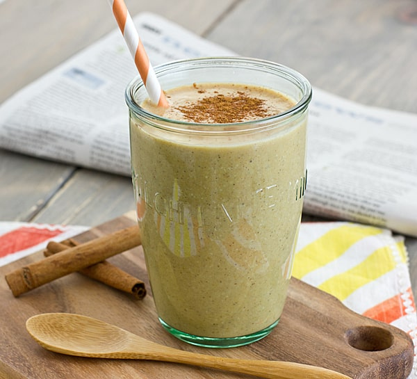 Pumpkin Spice Breakfast Shake [with spoon]