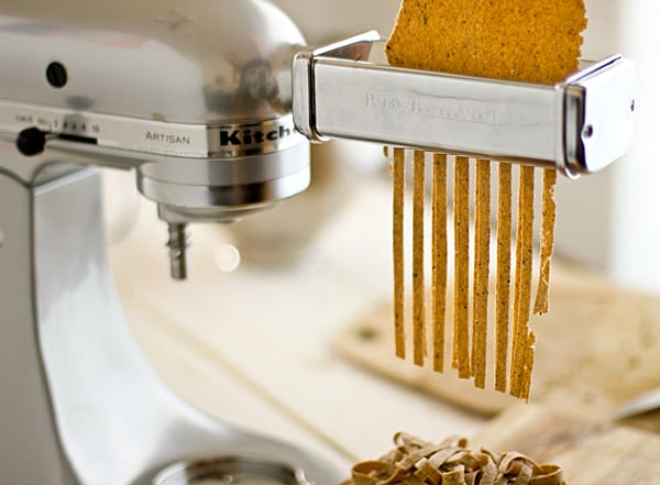 Cutting Fettuccine