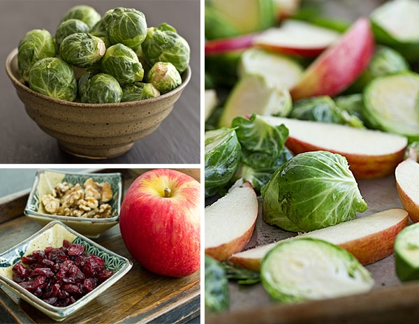 Roasted Brussels Sprouts & Apples Ingredients