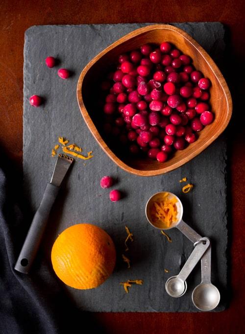 Ginger Orange Cranberry Sauce Ingredients