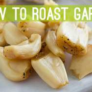 How to Roast Garlic + Roasted Garlic Grilled Cheese Recipe