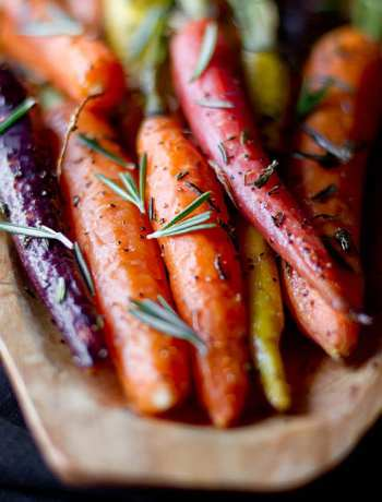 Rosemary Roasted Carrots Recipe