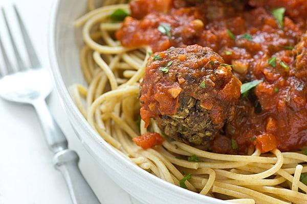 Lentil Mushroom Meatballs Recipe