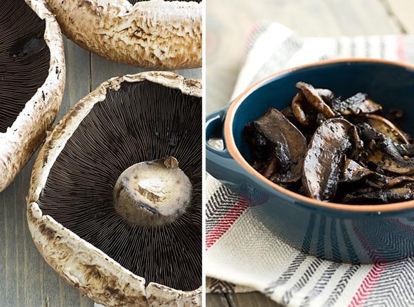 Portabella Mushroom Cheesesteaks Recipe