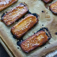 Maple Miso Tofu