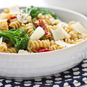Whole Wheat Rotini with Broccolini and Sun-Dried Tomatoes ...