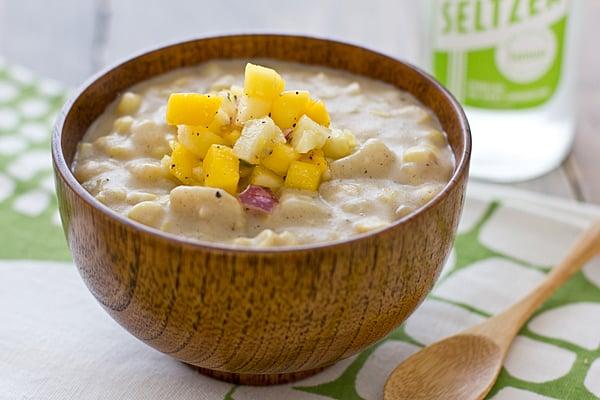 Caribbean Corn Chowder