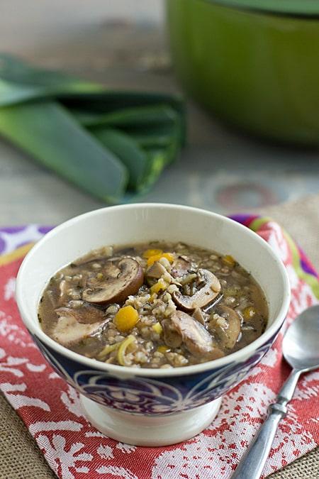 Leek & Wild Mushroom Stew