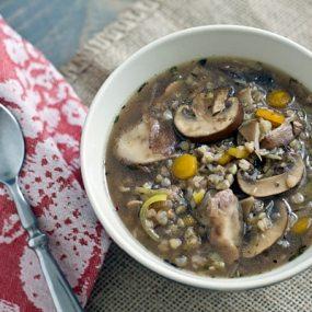 Leek & Wild Mushroom Stew Recipe
