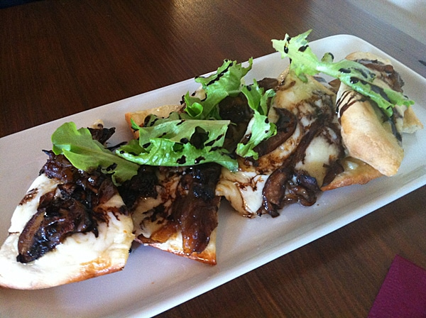 Mushroom Flatbread from Fig Cafe