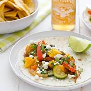 Sweet & Spicy Mango Fajitas Recipe
