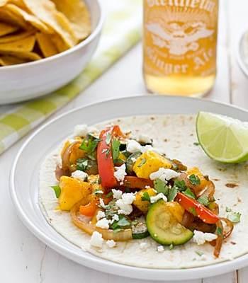 Sweet & Spicy Mango Fajitas Recipe