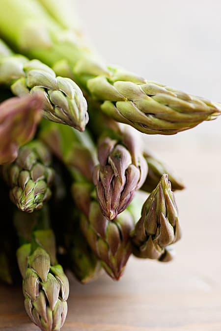 Asparagus Bunch Close