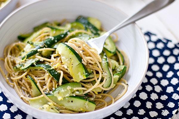 Zucchini and Lemon Spaghetti Recipe