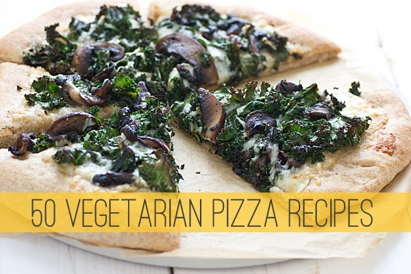 50 Vegetarian Pizza Recipes