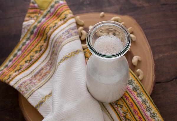 Cinnamon Vanilla Cashew Milk