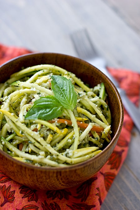 Raw Pumpkin Seed Pesto