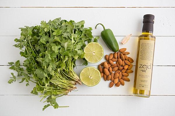 Cilantro Jalapeño Pesto Ingredients