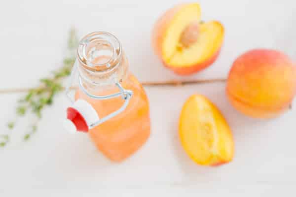 Peach Thyme Syrup Recipe