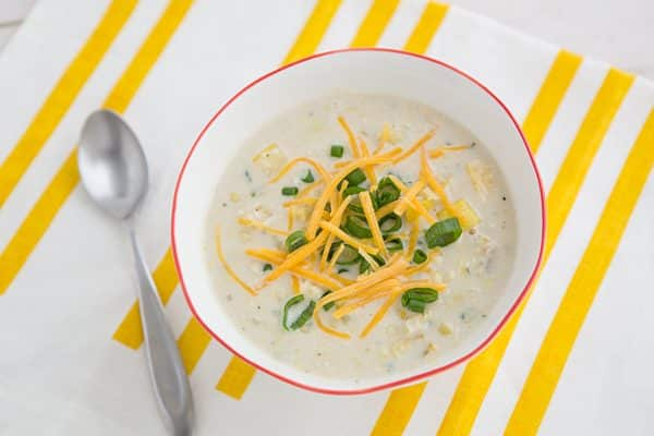 Summer Squash & Corn Chowder
