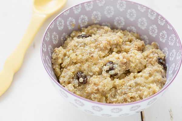 Pumpkin Chia Quinoa Porridge