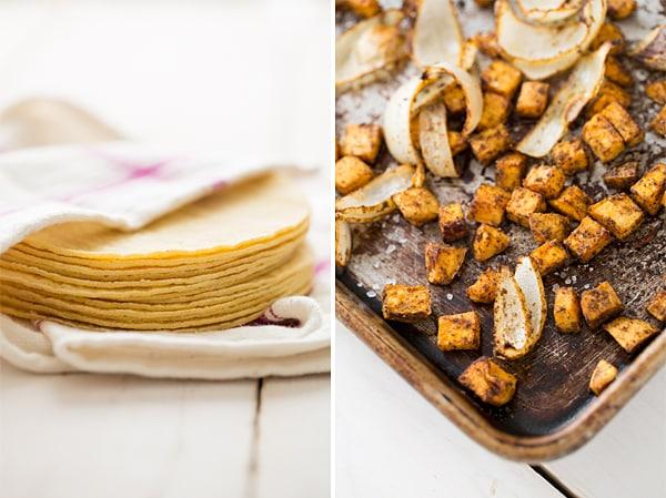 Tortillas & Sweet Potatoes