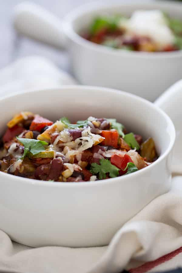 Freezer-Friendly Veggie-Loaded Chili