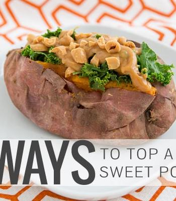 4 Ways to Top a Sweet Potato