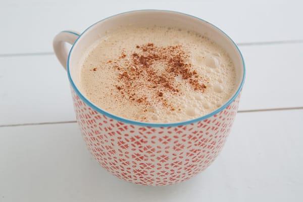 Apple Cinnamon Tea Latte