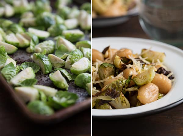 Gnocchi with Roasted Brussels Sprouts