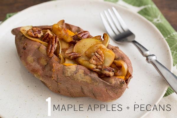 Maple Apple & Pecan Sweet Potato