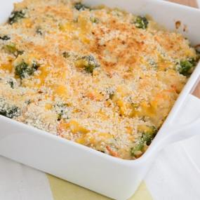 Broccoli Cheddar Brown Rice Casserole Recipe
